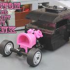 Kustom And Paint It Pink:花とバケツのホットロッド