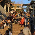 光の道―宮地嶽神社に行ってきた