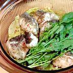 鱈と春キャベツのワイン蒸し定食!