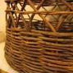 籐 籐製 編みカゴ