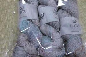 Lilouの糸がやってきました。&リベンジしてます。