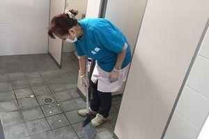 安芸津駅の清掃活動