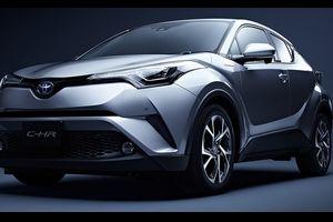 トヨタ「新型C-HR」がバカ売れ!発売1ヶ月で目標8倍の4.8万台を受注!SUVではライバル圧倒!