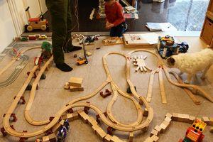 就学を前に、おもちゃスペースを改革