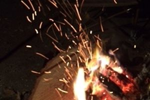 やっぱり焚き火は最高だね!