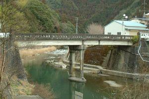 旧国道197号線・檮原橋