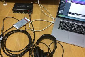 nanaでPCのオーディオインターフェースを使って録音する方法