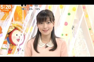 阿部華也子 めざましテレビ (2017年01月13日放送 32枚)