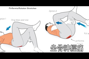 腰回りの痛みに効く5つのストレッチ!坐骨神経痛の症状を緩和!腰痛予防!老化による筋肉低下を防ぐ!
