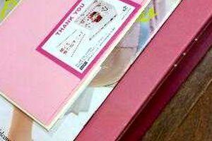 実質無料の猫雑貨♪【フェリシモ猫部のメッセージカード】が届きました♪