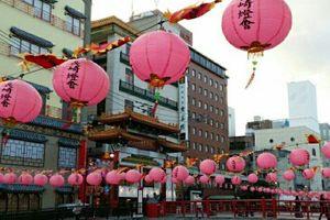 ●「長崎ランタンフェスティバル」準備始まる