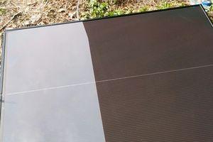 ソーラー増設とポスト設置