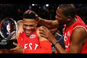 NBAオールスター 見どころの一つ、KDとウェストブルックのからみはどうなるのか