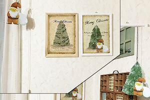 サンタさんポスター(掲載しました)とラベルのオーダー♪