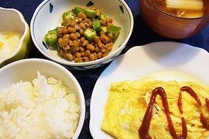 母の老いに直面(・_・;) & 豆腐オムレツ
