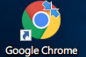 (Windows)Windows 10のアイコンに青い矢印が右上に表示される