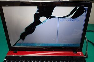 LaVie LS150/H 液晶割れ修理