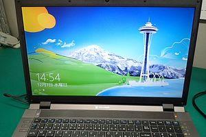 マウスコンピュータ MB-W904S-SH 画面不調・・・