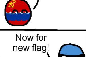 【ベラルーシ】ベラルーシはちょっと特殊なんだよ【ポーランドボール】