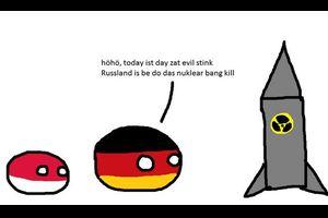 【ドイツ】ドイツがロシアに核を撃つよ【ポーランドボール】