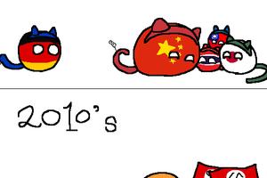 【ドイツ】悪魔の囁き【ポーランドボール】