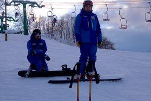 1月15日(日) スノーボードコースレッスン