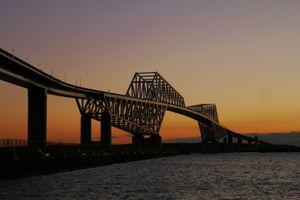 ■Tokyo Gate Bridge  evening view