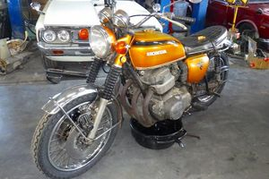 CB750 K2 エンジン ボアアップ(1)