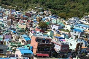 釜山は人間ウォッチングが楽しい♪甘川文化村より親切なナムジャに惹かれました。(笑)