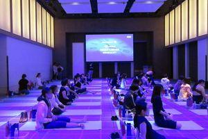 ビューティナイトヨガDHCイベントに参加~美容&健康の近道は良質な眠りです。