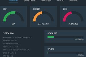 Stacer - Ubuntuのシステム最適化ツール