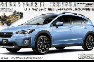 スバル「新型XV」デザイン&スペック判明!215万円〜の低価格戦略でSUV市場殴りこみ!