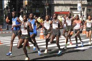 東京マラソン応援と5kmTT