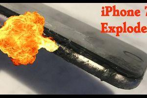 サムスンのスマホに続いて「iPhone 7」も爆発・・・炎上動画がヤバい