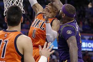 【NBA】AD&カズンズ 対 アダムズ&カンター!しかし終盤を持っていったのはやはりウェストブルック!
