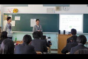 福祉のしごと・魅力発信!!in上鶴間高等学校