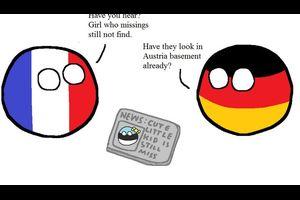 【オーストリア】地下室にて【ポーランドボール】