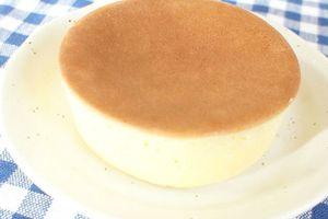 カフェみたい★スフレが簡単!セリアのふんわり厚焼きホットケ-キ型