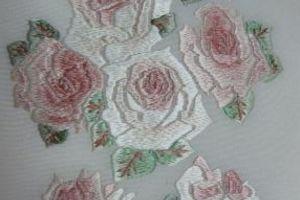 パーティーの着物コーデは薔薇の刺繍の半えりから決まりました(^^♪