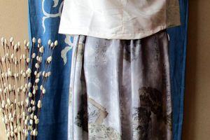 羽裏のスカート