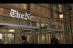 ニューヨーク・タイムズ、ウハウハ トランプの攻撃のおかげで購読者激増 海外の反応