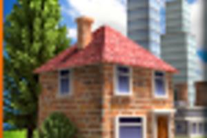 シムシティ風の街づくりシミュレーションゲーム