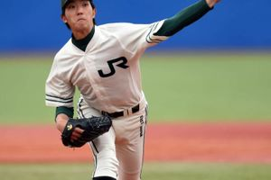 田嶋 大樹 投手(JR東日本) 佐野日大高卒 2017年ドラフト候補 20歳