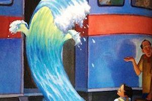 波との暮らし方  パス『波と暮らして』とその絵本化作品