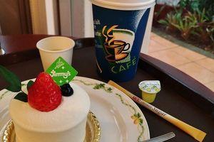 沖縄CAFE★首里『Jimmy's Cafe』の「半熟レアチーズショート」で Lovely Cafe Time ☆彡★彡