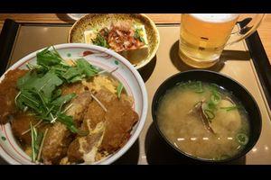 朝カツ丼 - Cutlet Bowl on Breakfast -