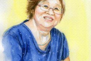 友達ママの肖像画
