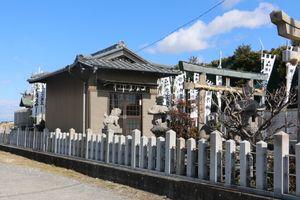 愛知県名古屋市中川区福島2丁目の御嶽神社