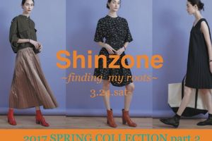 『Shinzone』 spring collection  本日より♪