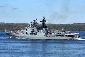 ロシア海軍北方艦隊艦船支隊はインド洋で赤道祭を準備する